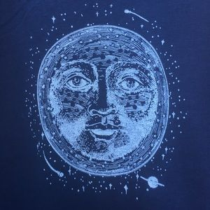 Tops - Celestial Moon Graphic Tank